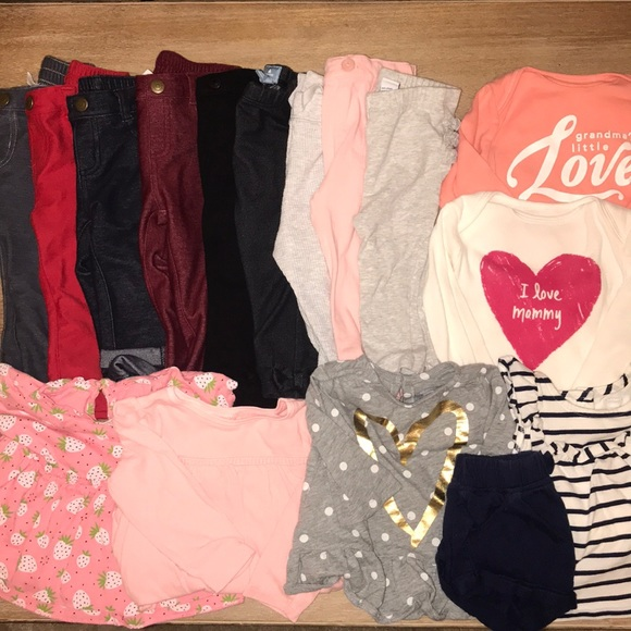 Girls' Clothing (0-24 Months) Bundles Helpful 12 To 18 Months Girls Bundle 10 Items